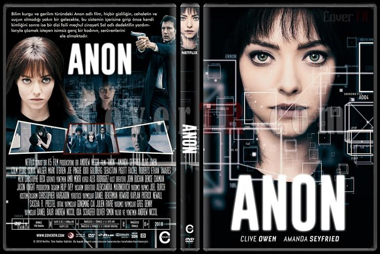 Anon - Custom Dvd Cover - Türkçe [2018]-01jpg