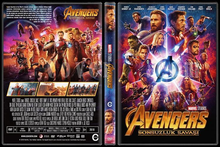 Avengers: Infinity War (Yenilmezler: Sonsuzluk Savaşı) - Custom Dvd Cover - Türkçe [2018]-1jpg