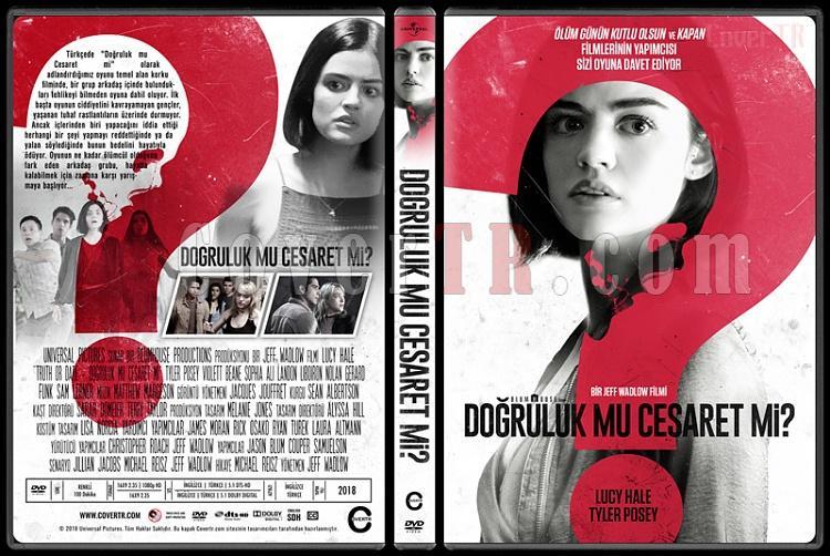 Truth or Dare (Doğruluk Mu Cesaret Mi?) - Custom Dvd Cover - Türkçe [2018]-2jpg