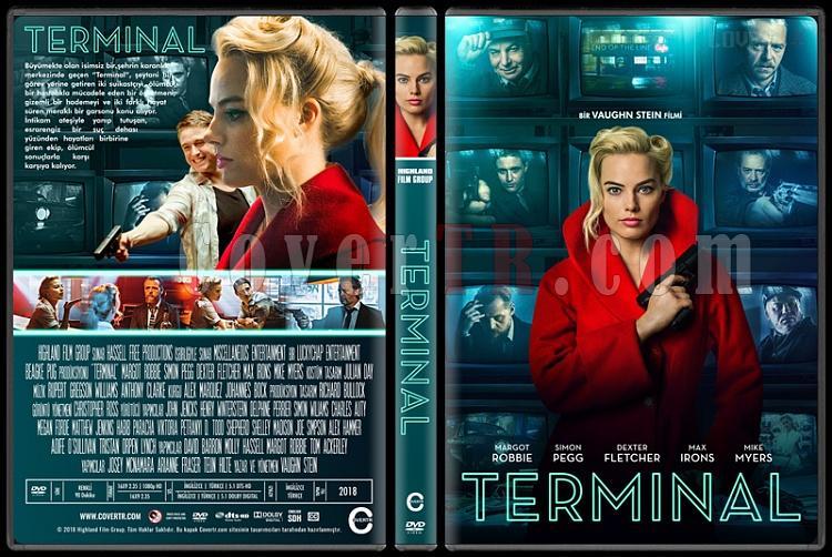 Terminal - Custom Dvd Cover - Türkçe [2018]-1jpg
