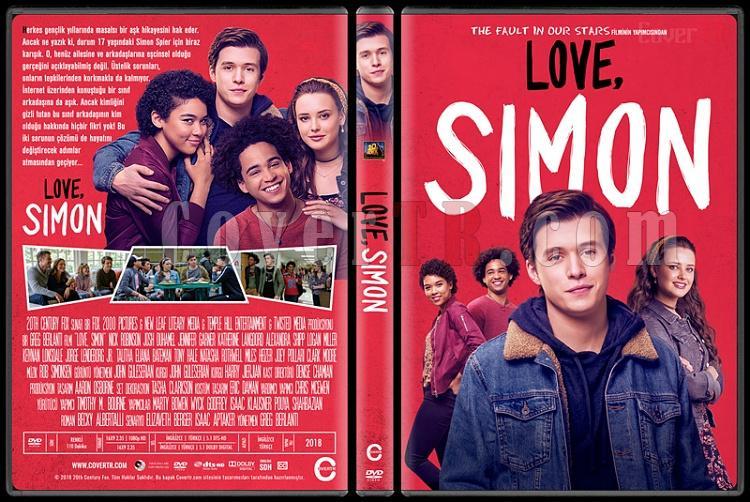 Love, Simon - Custom Dvd Cover - Türkçe [2018]-1jpg