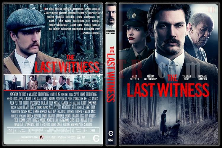 The Last Witness - Custom Dvd Cover - Türkçe [2018]-1jpg