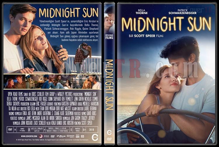 Midnight Sun - Custom Dvd Cover - Türkçe [2018]-1jpg