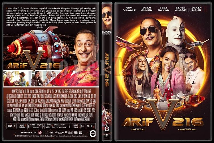 Arif v 216 - Custom Dvd Cover - Türkçe [2018]-1jpg