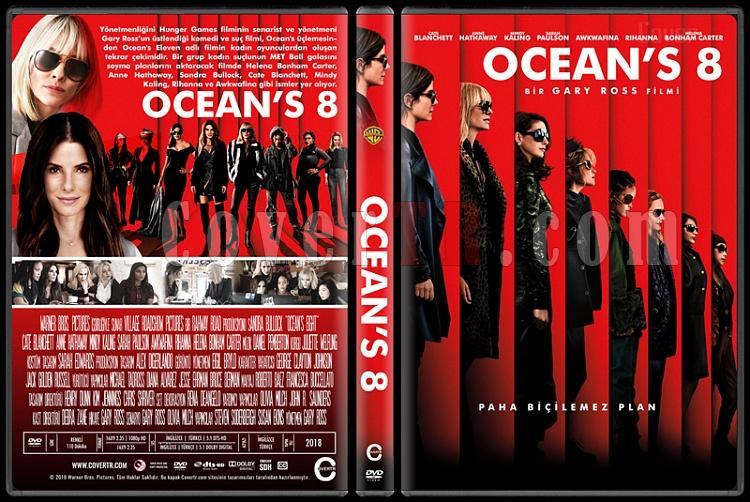 Ocean's 8 - Custom Dvd Cover - Türkçe [2018]-1jpg