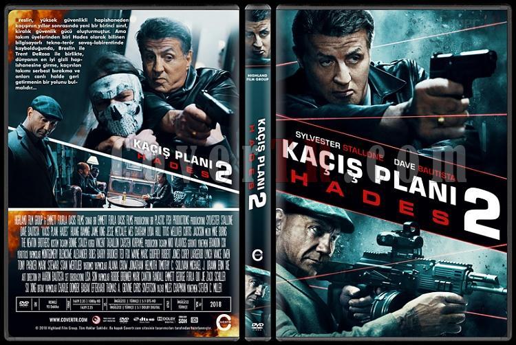 Escape Plan 2: Hades (Kaçış Planı 2: Hades) - Custom Dvd Cover - Türkçe [2018]-1jpg