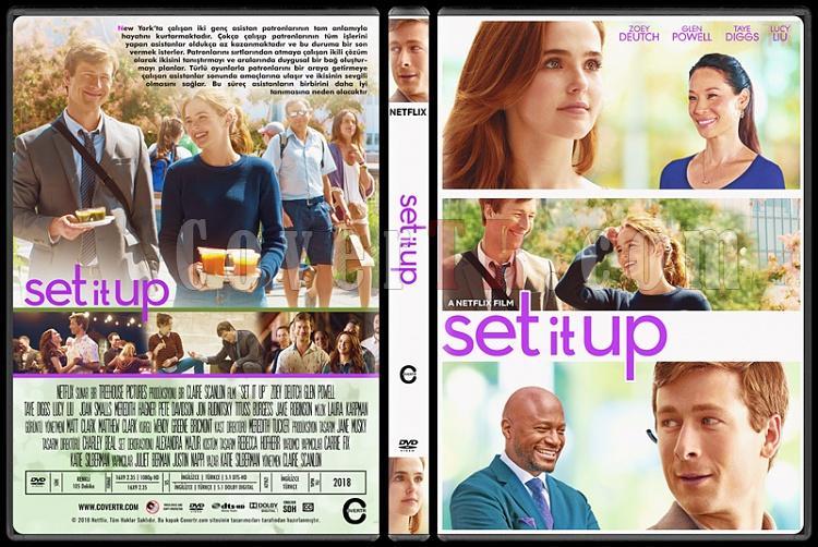 Set it Up - Custom Dvd Cover - Türkçe [2018]-1jpg