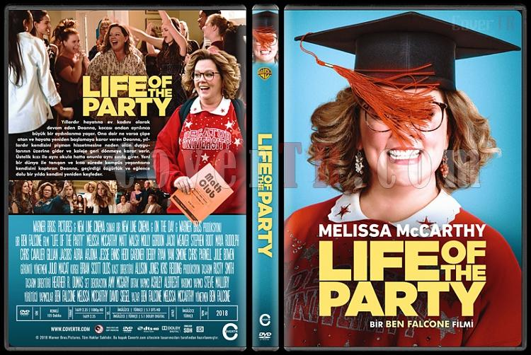 Life of the Party (How to Party with Mom) - Custom Dvd Cover - Türkçe [2018]-standardjpg