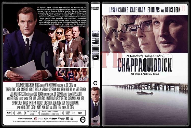 Chappaquiddick - Custom Dvd Cover - Türkçe [2017]-1jpg