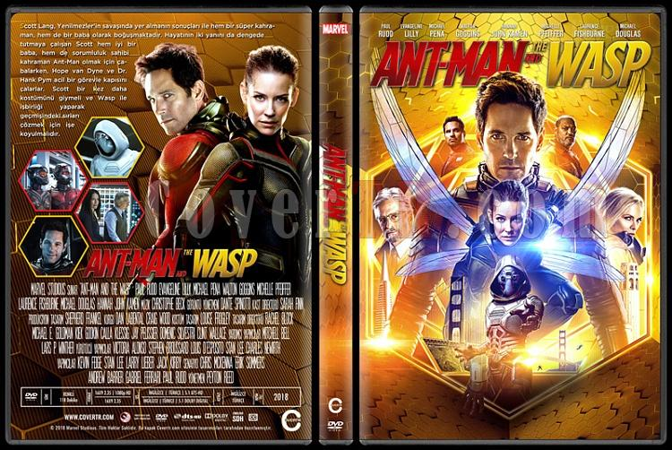 Ant-Man and the Wasp (Ant Man ve Wasp - Custom Dvd Cover - Türkçe [2018]-0jpg