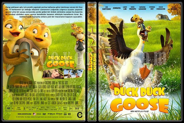 Duck Duck Goose - Custom Dvd Cover - Türkçe [2018]-01jpg