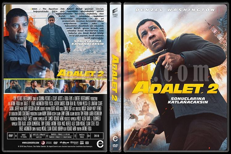 The Equalizer 2 (Adalet 2) - Custom Dvd Cover - Türkçe [2018]-01jpg
