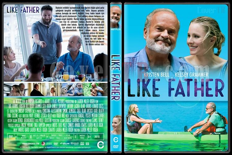 Like Father - Custom Dvd Cover - Türkçe [2018]-01jpg
