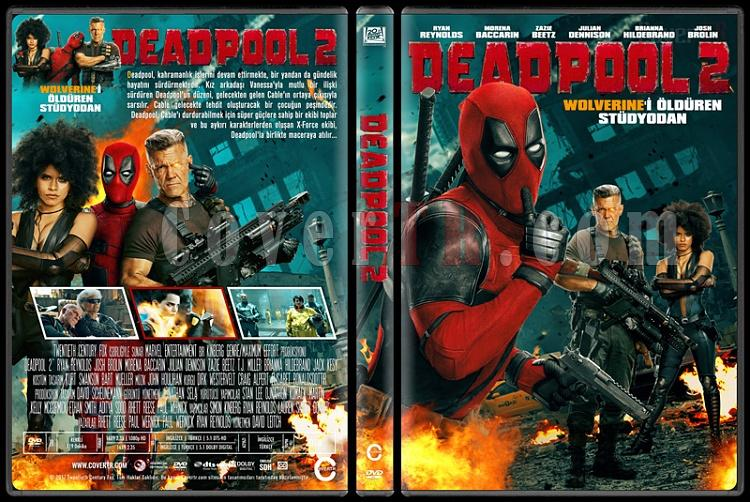 Deadpool 2 - Custom Dvd Cover - Türkçe [2018]-02jpg