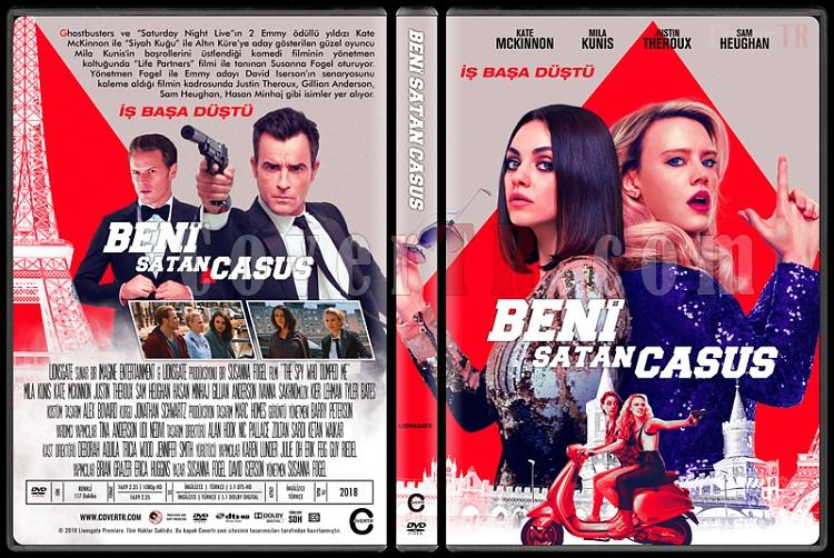 The Spy Who Dumped Me (Beni Satan Casus) - Custom Dvd Cover - Türkçe [2018]-01jpg
