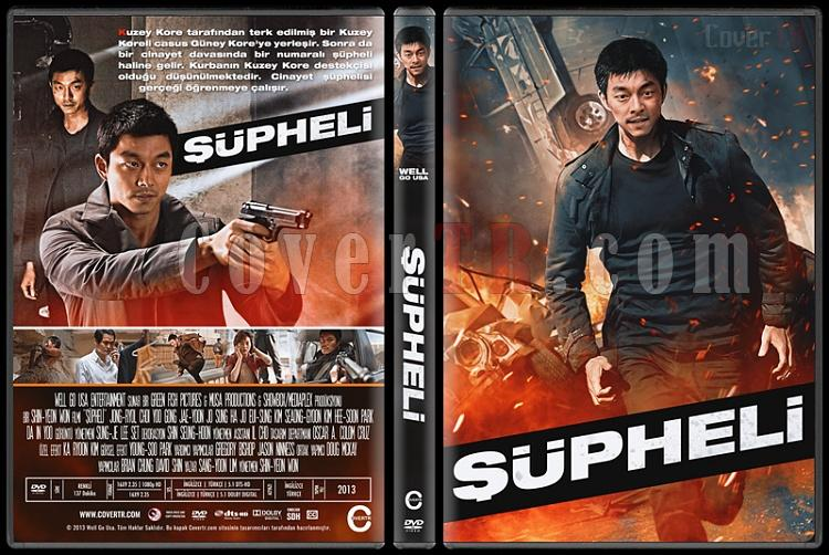 The Suspect (Şüpheli) - Custom Dvd Cover - Türkçe [2013]-010jpg