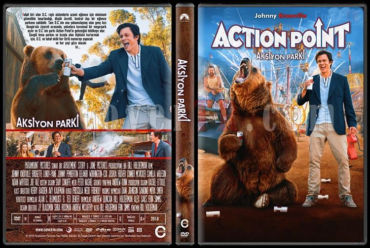 Action Point (Aksiyon Parkı) - Custom Dvd Cover - Türkçe [2018]-01jpg