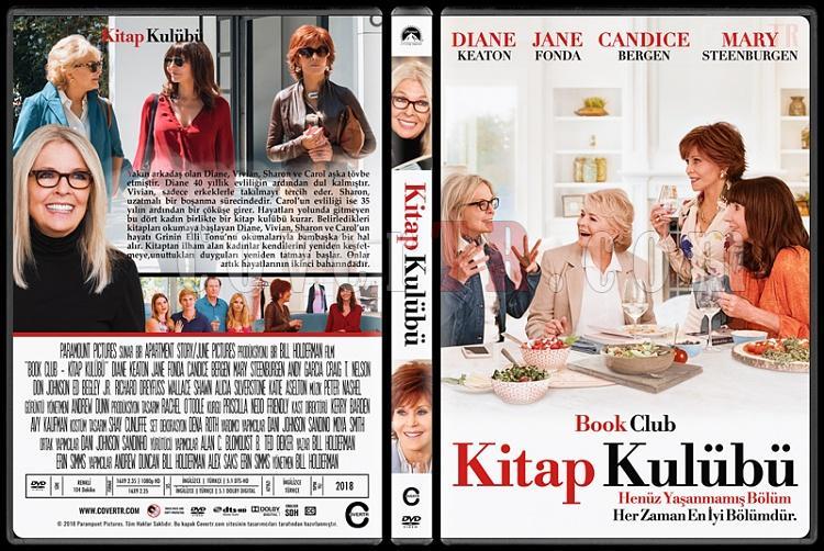 Book Club (Kitap Kulübü) - Custom Dvd Cover - Türkçe [2018]-01jpg