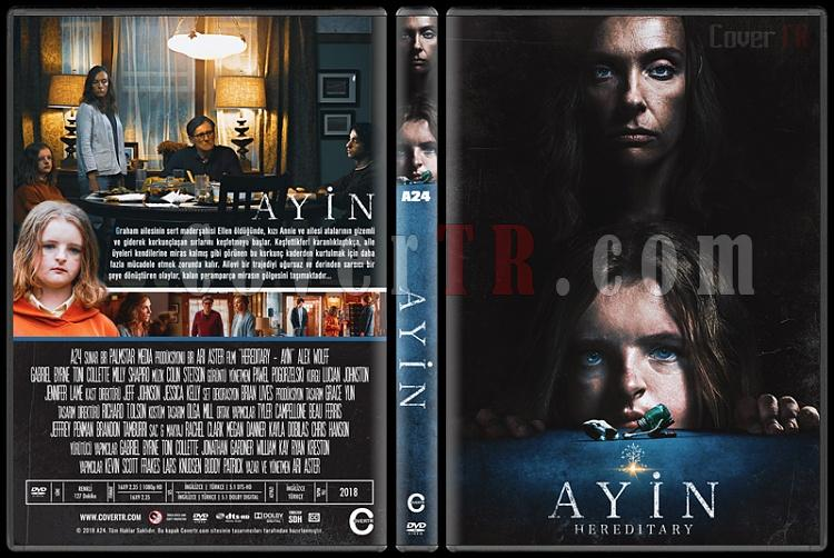 Hereditary (Ayin) - Custom Dvd Cover - Türkçe [2018]-01jpg