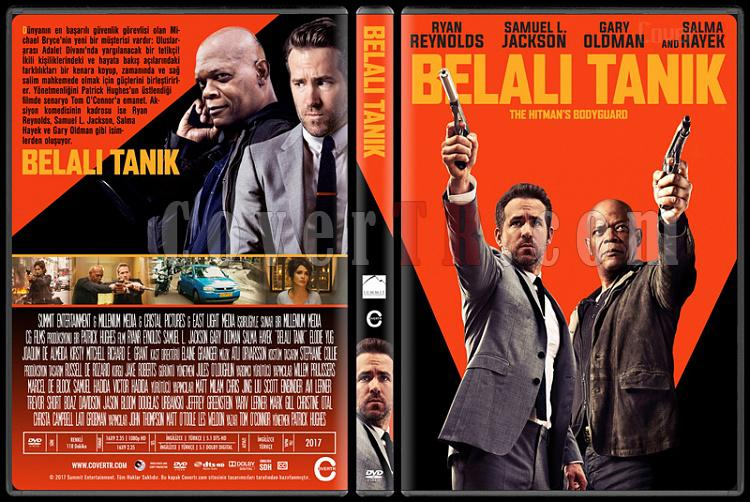 The Hitman S Bodyguard Belali Tanik Custom Dvd Cover Turkce 2017 Covertr