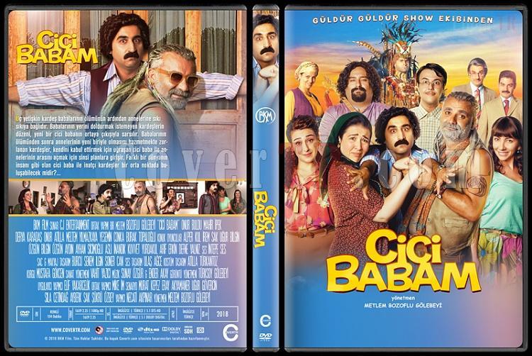 Cici Babam - Custom Dvd Cover - Türkçe [2018]-01jpg