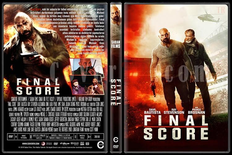 Final Score - Custom Dvd Cover - Türkçe [2018]-02jpg