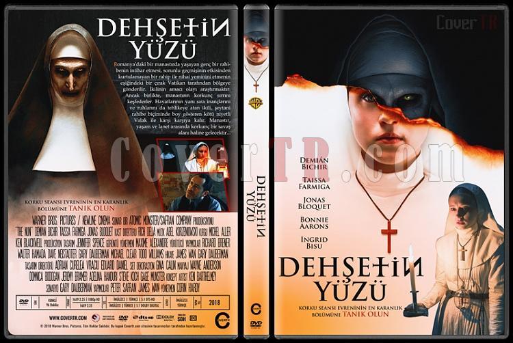 The Nun (Dehşetin Yüzü) - Custom Dvd Cover - Türkçe [2018]-01jpg