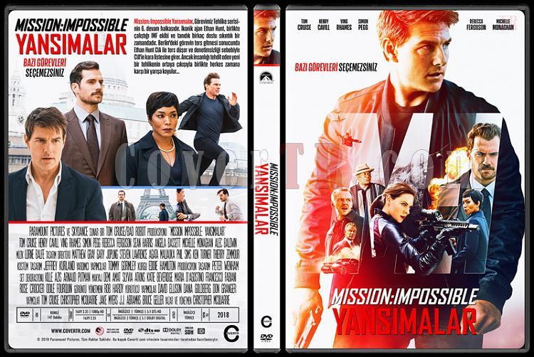 Mission: Impossible - Fallout (Mission: Impossible - Yansımalar) - Custom Dvd Cover - Türkçe [2018]-04jpg