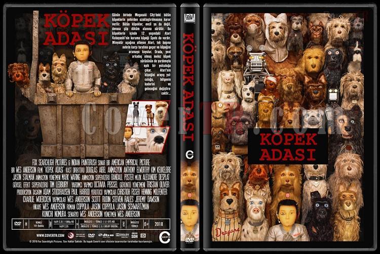 Isle of Dogs (Köpek Adası) - Custom Dvd Cover - Türkçe [2018]-03jpg