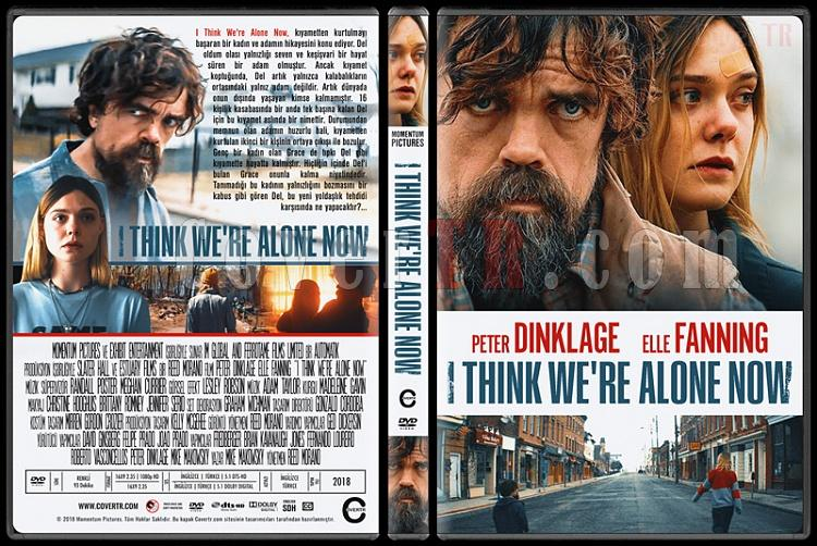 I Think We're Alone Now - Custom Dvd Cover - Türkçe [2018]-01jpg
