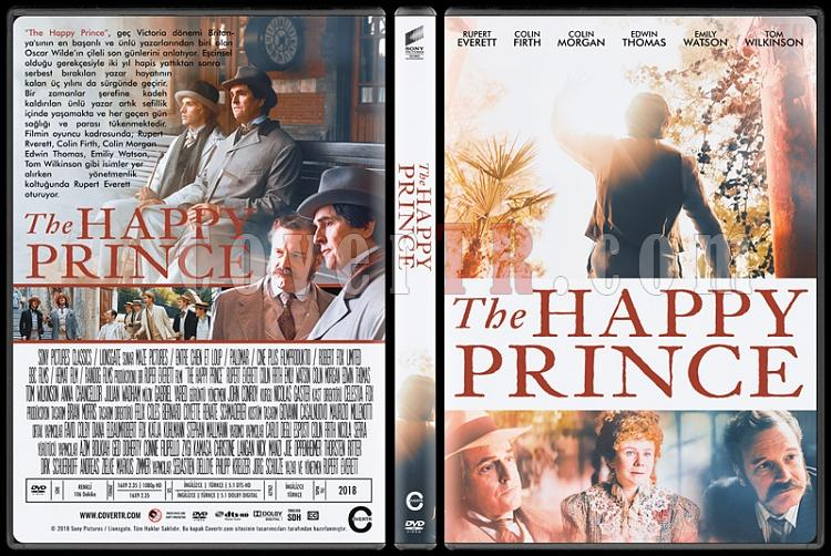The Happy Prince - Custom Dvd Cover - Türkçe [2018]-01jpg