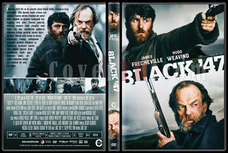 Black '47 - Custom Dvd Cover - Türkçe [2018]-1jpg