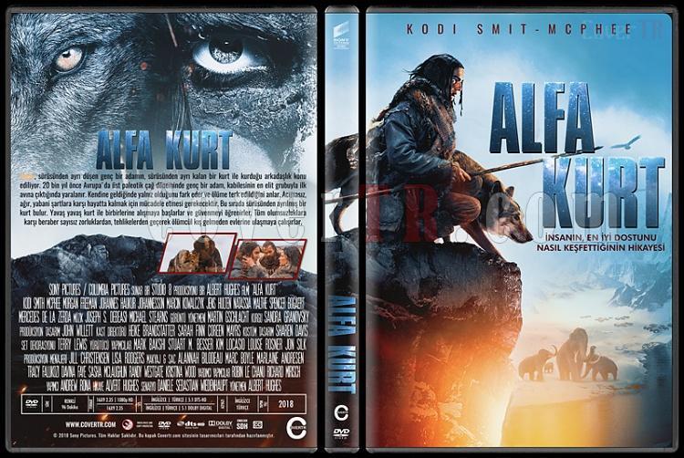 Alpha (Alfa Kurt) - Custom Dvd Cover - Türkçe [2018]-2jpg