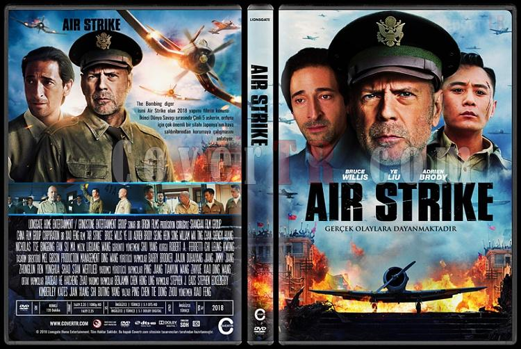 Air Strike - Custom Dvd Cover - Türkçe [2018]-2jpg