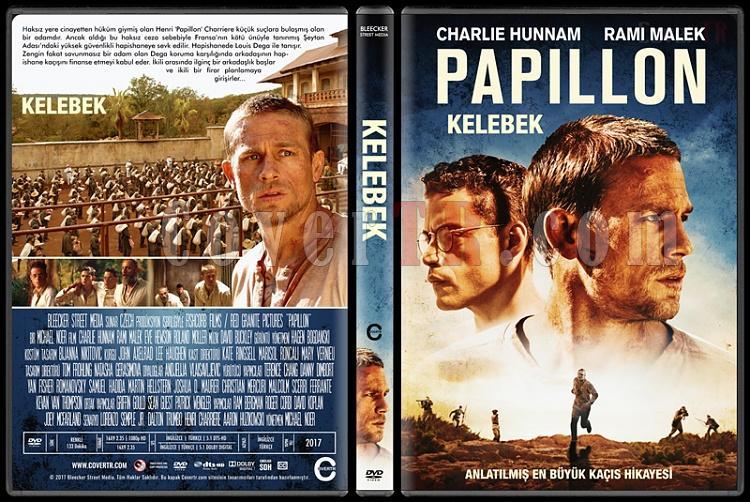 Papillon (Kelebek) - Custom Dvd Cover - Türkçe [2017]-1jpg