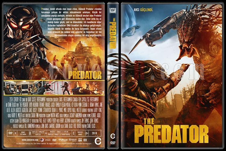 The Predator - Custom Dvd Cover - Türkçe [2018]-01jpg
