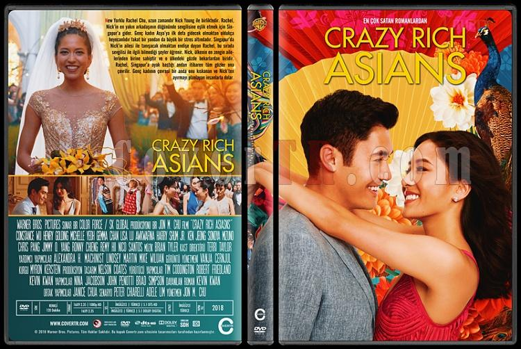 Crazy Rich Asians - Custom Dvd Cover - Türkçe [2018]-1jpg