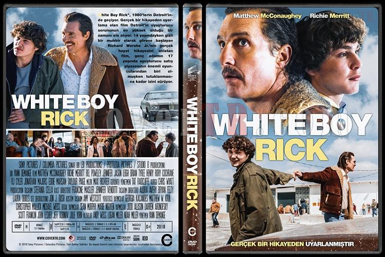 White Boy Rick - Custom Dvd Cover - Türkçe [2018]-1jpg