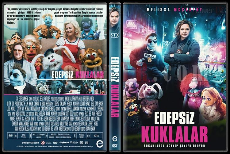 The Happytime Murders (Edepsiz Kuklalar) - Custom Dvd Cover - Türkçe [2018]-3jpg