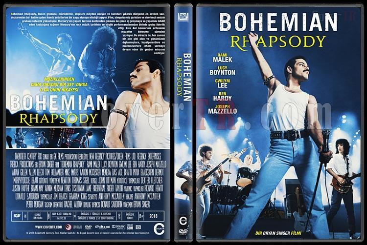 Bohemian Rhapsody - Custom Dvd Cover - Türkçe [2018]-1jpg