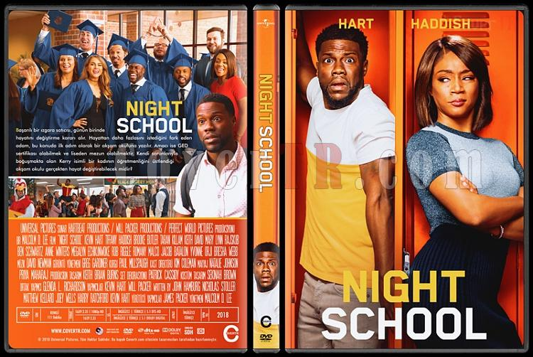 Night School - Custom Dvd Cover - Türkçe [2018]-1jpg