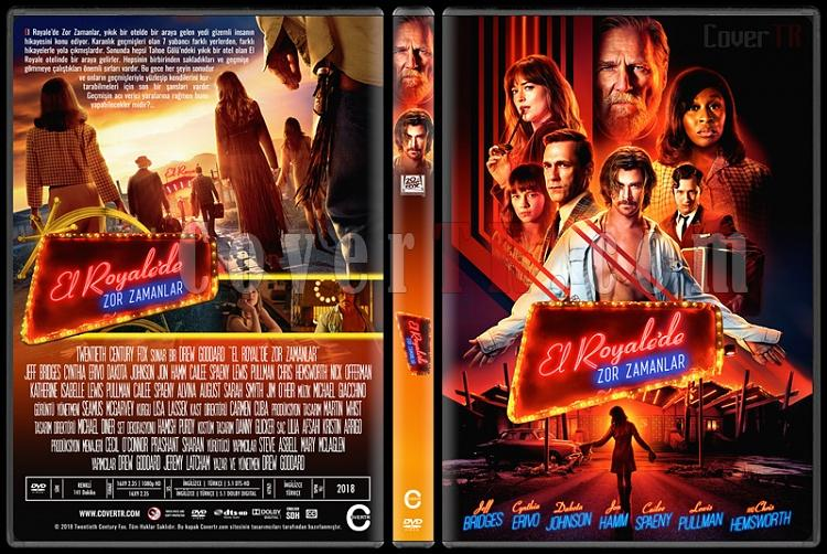 Bad Times at the El Royale (El Royale'de Zor Zamanlar) - Custom Dvd Cover - Türkçe [2018]-0jpg