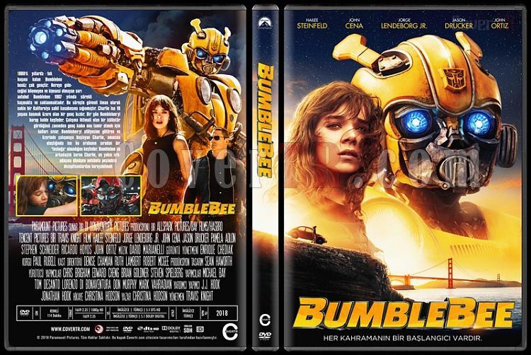 Bumblebee - Custom Dvd Cover - Türkçe [2018]-01jpg