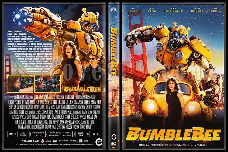 Bumblebee - Custom Dvd Cover - Türkçe [2018]-02jpg
