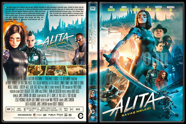 Alita: Battle Angel (Alita: Savaş Meleği) - Custom Dvd Cover - Türkçe [2019]-1jpg