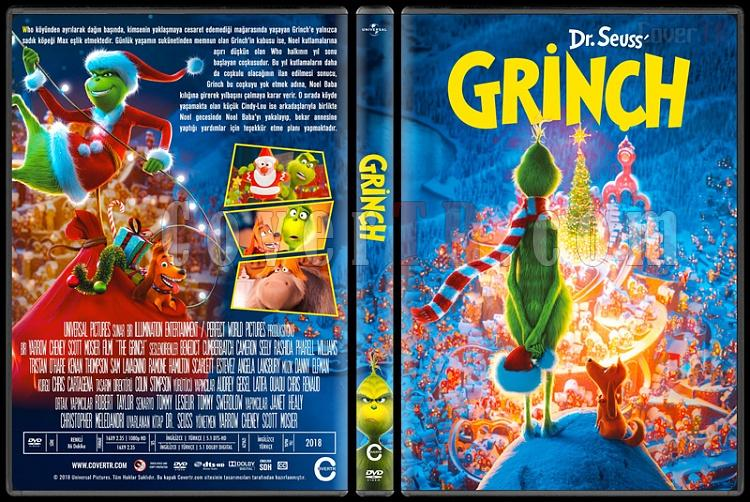 The Grinch (Grinç) - Custom Dvd Cover - Türkçe [2018]-2jpg