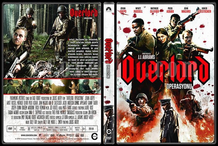 Overlord (Overlord Operasyonu) - Custom Dvd Cover - Türkçe [2018]-2jpg