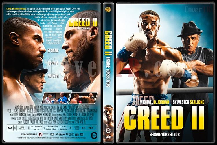 Creed II (Creed II: Efsane Yükseliyor) - Custom Dvd Cover - Türkçe [2018]-1jpg