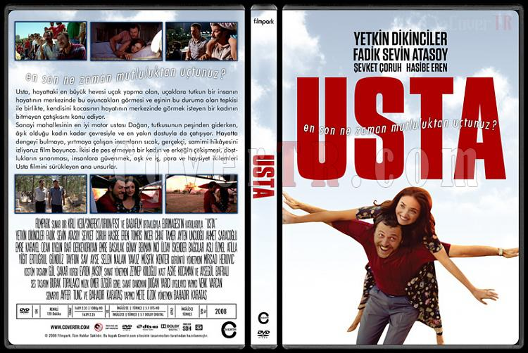 Usta - Custom Dvd Cover - Türkçe [2008]-standardjpg