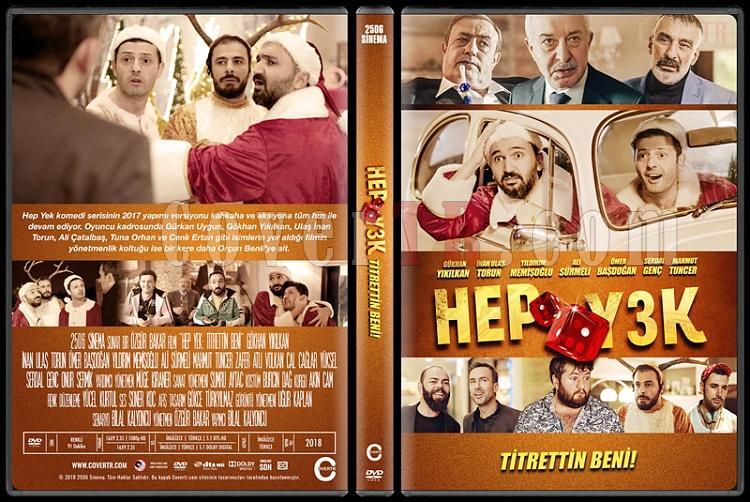 Hep Yek 3 Titrettin Beni - Custom Dvd Cover - Türkçe [2018]-01jpg